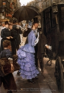 The Traveller painting reproduction, James Tissot