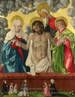 The Trinity and Mystic Pieto painting reproduction, Hans Baldung Grien