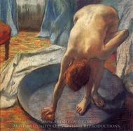 The Tub painting reproduction, Edgar Degas