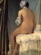 The Valpincon Bather painting reproduction, Jean Auguste Dominique Ingres
