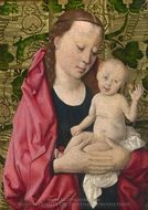 The Virgin and Child painting reproduction, Dieric Bouts