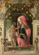 The Virgin and Child painting reproduction, Giorgio Schiavone