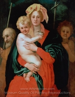 The Virgin and Child With St. Joseph and John the Baptist painting reproduction, Jacopo Pontormo