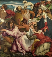 The Way to Calvary painting reproduction, Jacopo Bassano