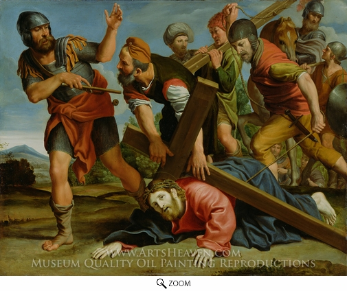 Domenichino, The Way to Calvary oil painting reproduction