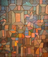 The Way to the Citadel painting reproduction, Paul Klee
