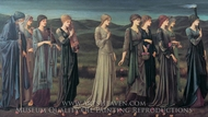 The Wedding of Psyche painting reproduction, Edward Burne-Jones