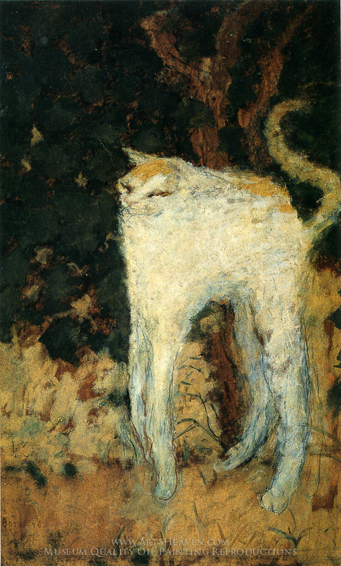 Reproduction Painting Pierre Bonnard The White Cat Hand