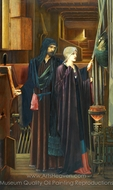 The Wizard painting reproduction, Edward Burne-Jones