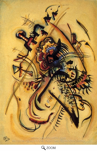 Wassily Kandinsky, To the Unknown Voice oil painting reproduction