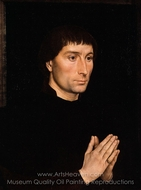 Tommaso di Folco Portinari painting reproduction, Hans Memling