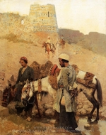 Traveling in Persia painting reproduction, Edwin Lord Weeks