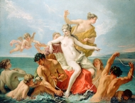 Triumph of the Marine Venus painting reproduction, Sebastiano Ricci