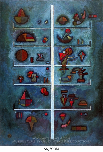 Wassily Kandinsky, Untitled II oil painting reproduction