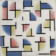 Variation on Composition XIII painting reproduction, Theo Van Doesburg