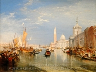 Venice, The Dogana and San Giorgio Maggiore painting reproduction, Joseph M. W. Turner