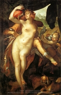 Venus and Adonis painting reproduction, Bartholomeus Spranger