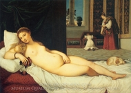 Venus of Urbino painting reproduction, Titian