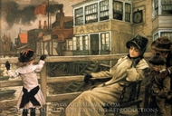 Waiting for the Ferry painting reproduction, James Tissot