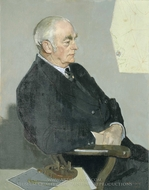 Walter Leslie Runciman, 2nd Viscount Runciman of Doxford painting reproduction, John Stanton Ward