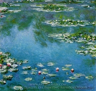 Water Lilies 1906 painting reproduction, Claude Monet