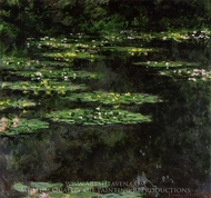 Water Lilies 1907 painting reproduction, Claude Monet