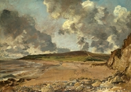 Weymouth Bay painting reproduction, John Constable