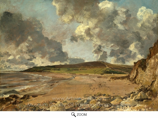 John Constable, Weymouth Bay oil painting reproduction