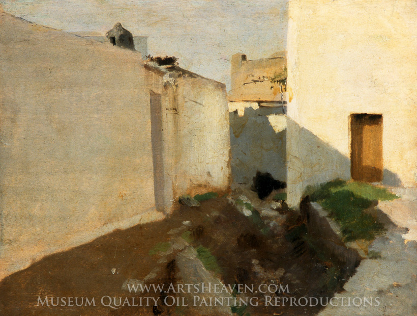 Reproduction Painting John Singer Sargent White Walls in Sunlight ...
