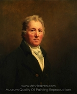 William Forsyth painting reproduction, Sir Henry Raeburn