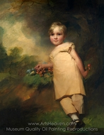 William Scott-Elliot of Arkleton painting reproduction, Sir Henry Raeburn