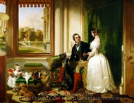 Windsor Castle in Modern Times painting reproduction, Sir Edwin Landseer
