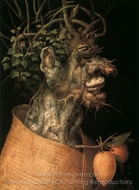 Winter painting reproduction, Giuseppe Arcimboldo