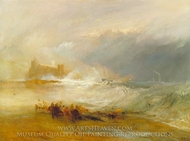 Wreckers Coast of Northumberland painting reproduction, Joseph M. W. Turner