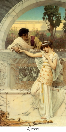 John William Godward, Yes or No oil painting reproduction