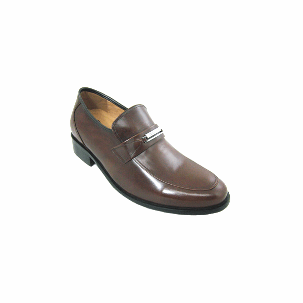 CALDEN - K6B731- 2.6 Inches Moc Toe Loafers (Brown) -Discontinued