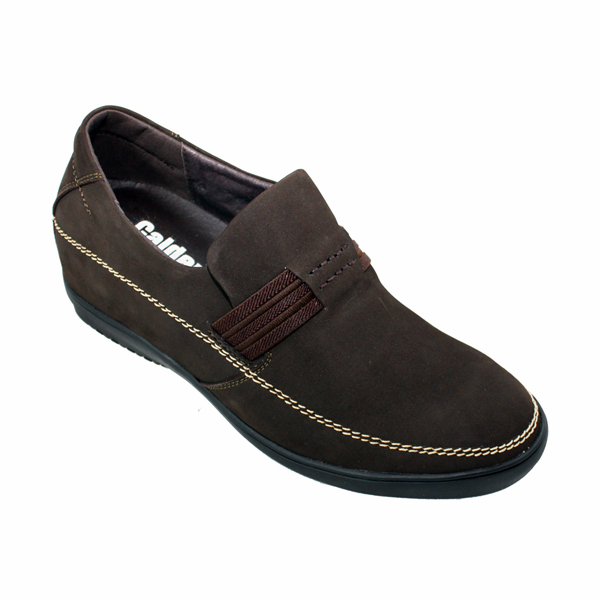 "CALDEN - K712852 - 2.4"" Inches Taller (Nubuck Dark Brown) - Super Lightweight - Discontinued"