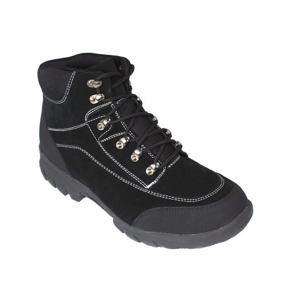 CALDEN - K7720 - 3.0 Inches Taller Hiking Boots (Black) - Discontinued