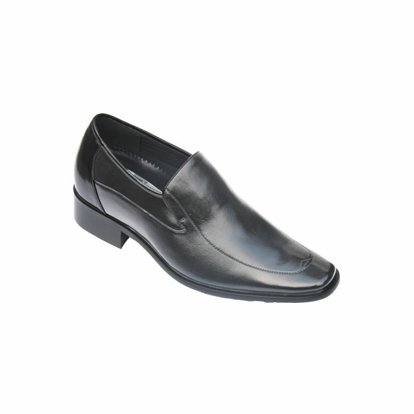CALDEN - K8036 - 2.6 Inches Taller Shoes (Black) - Discontinued