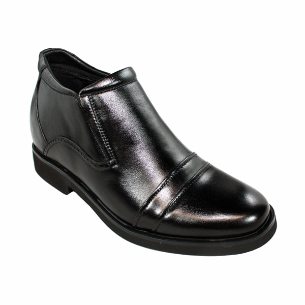 CALDEN - K882896 - 2.6 Inches Taller (Black) Slip On Boots - Discontinued