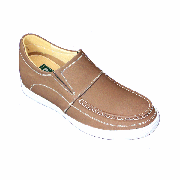 CALDEN - K89826 -2.4 Inches Taller Loafers (Brown)  - Discontinued