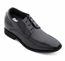 CALDEN - K911929 - 3 Inches Taller (Black Patent Leather)
