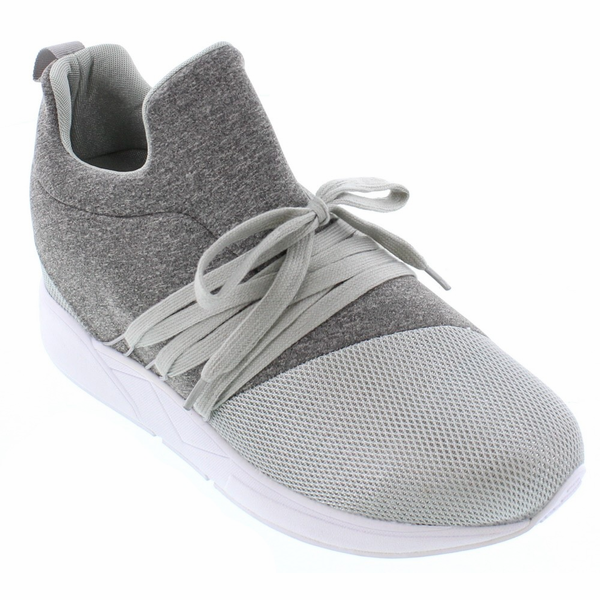 CALTO - H7196 - 3 Inches Taller (Grey) - Super Lightweight - Size 7 / 8 / 9 / 10 / 11 Only