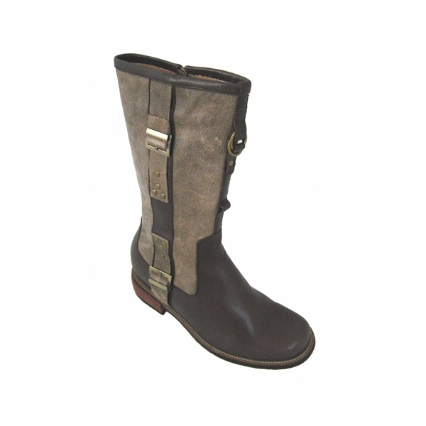 TOTO - V9841-1 - 3.4 Inches Taller Boots (Dark Brown) - Discontinued