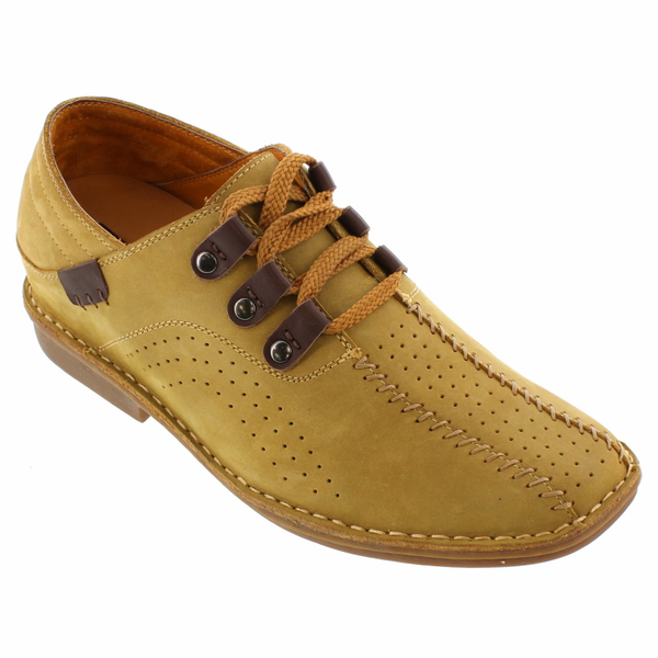 TOTO - X5841 - 2.6 Inches Taller (Nubuck Tobacco) -Super Lightweight - Size 9 / 10 / 12 Only