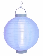 "10"" Serenity Blue 16 LED Round Battery Operated Nylon Lantern"
