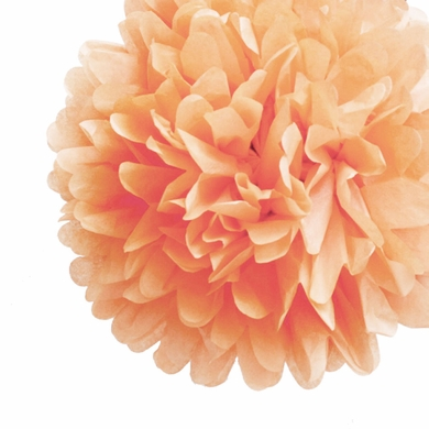 Ez Fluff 12 Blush Tissue Paper Pom Poms Flowers Balls Hanging Decorations 4 Pack