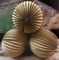 "12"" Gold Accordion Paper Lantern Balls - (3 PACK)"