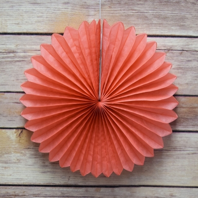 12 roseate pink coral tissue paper flower rosette fan decoration 12 roseate pink coral tissue paper flower rosette fan decoration 6 pack mightylinksfo