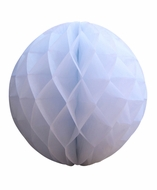 "12"" White Round Tissue Lantern, Honeycomb Ball, Hanging (3 PACK)"